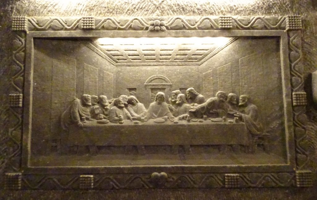 The Last Supper In St Kingas Chapel