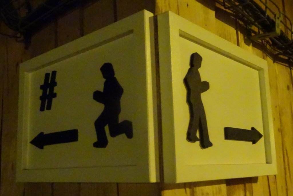 Weird Signs At Wieliczka Salt Mines