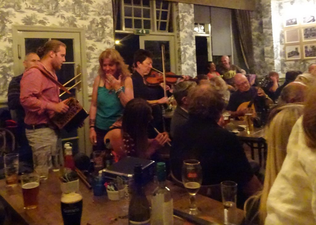Musicians At The Boar's Head