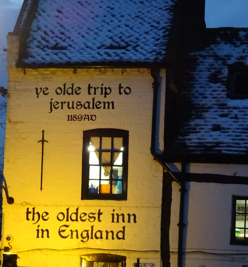 Oldest inn in England Ye Olde Trip To Jerusalem