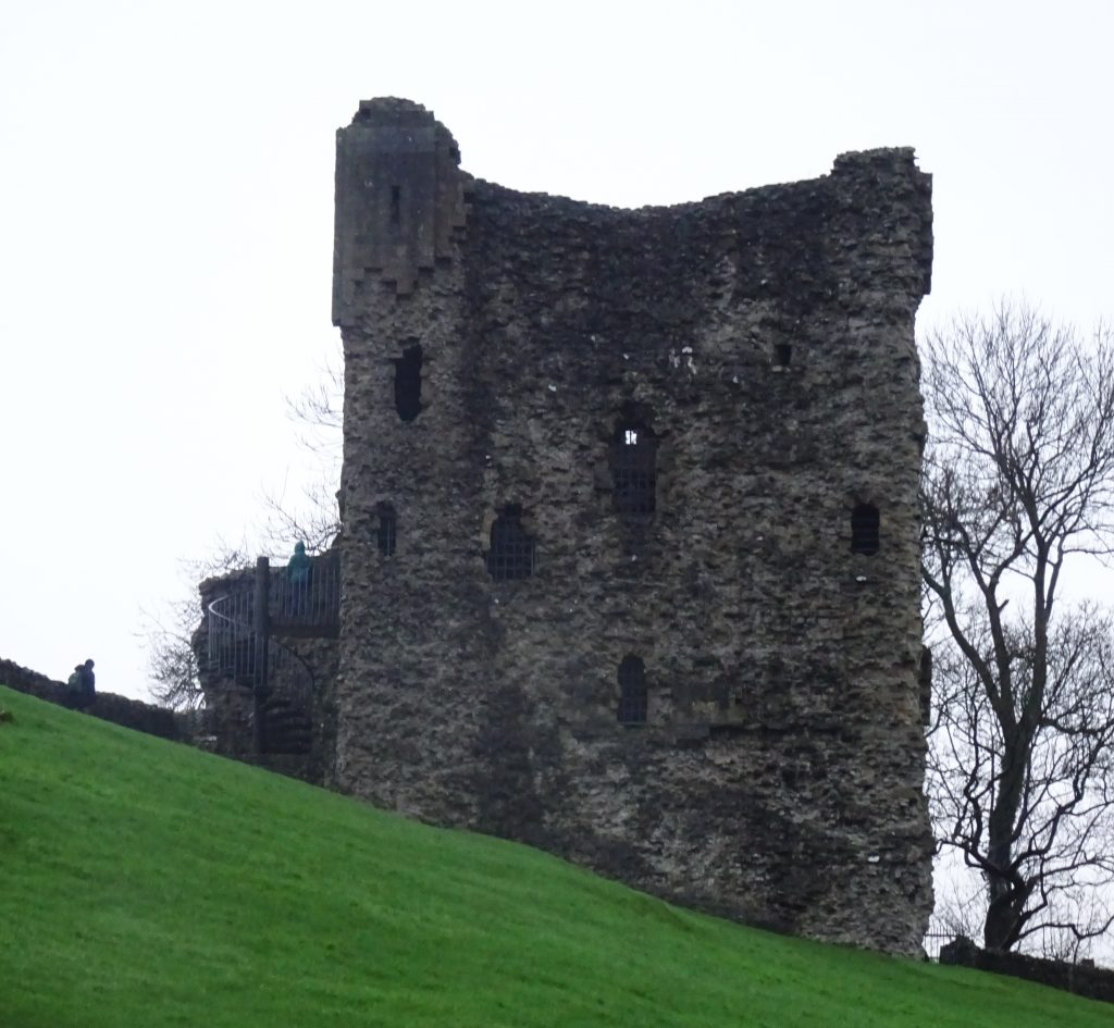Peveril Castle Tower