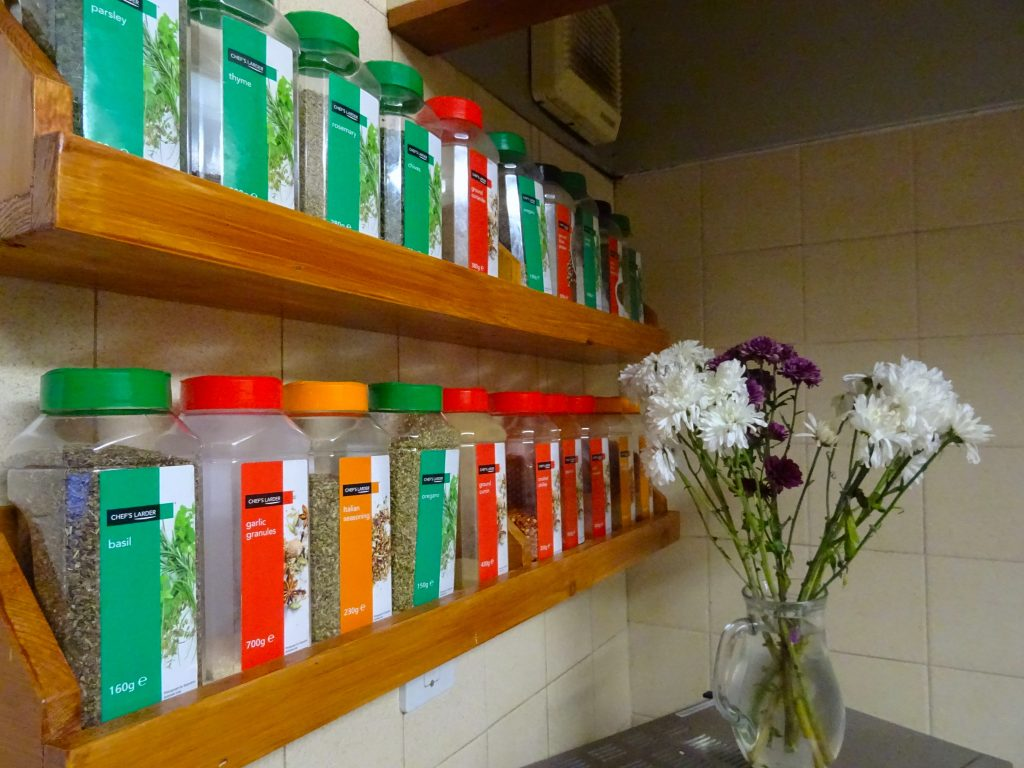 Amazing Hostel Spice Rack