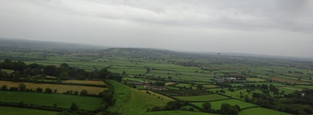 View From Glastonbury Tor