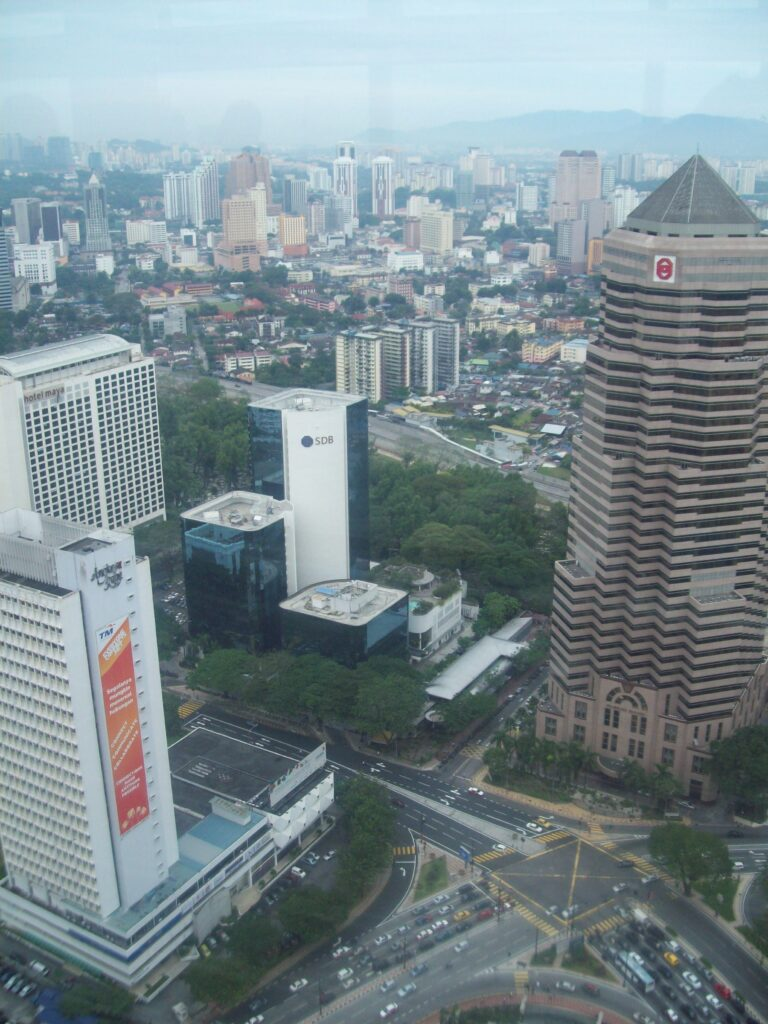 View From Petronas Towers Skybridge