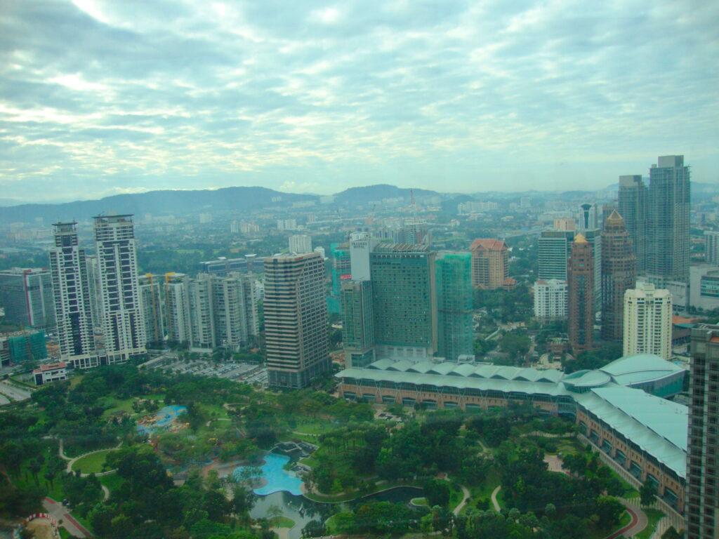 Views Of Kuala Lumpur From The Petronas Towers