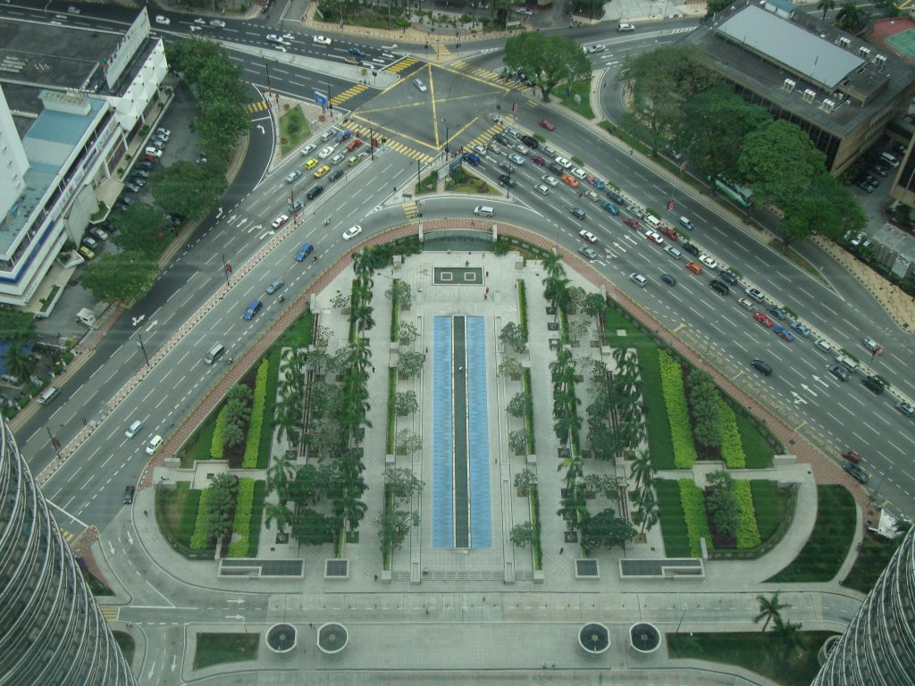 View Of Petronas Tower Entrance