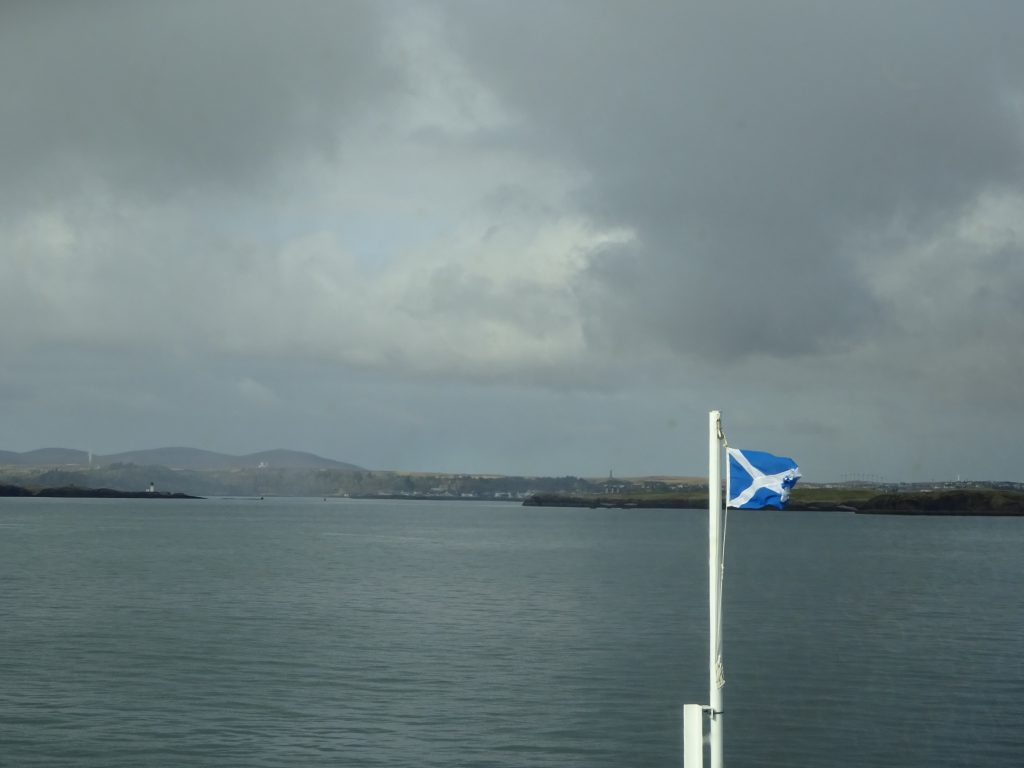 Arriving At Harris