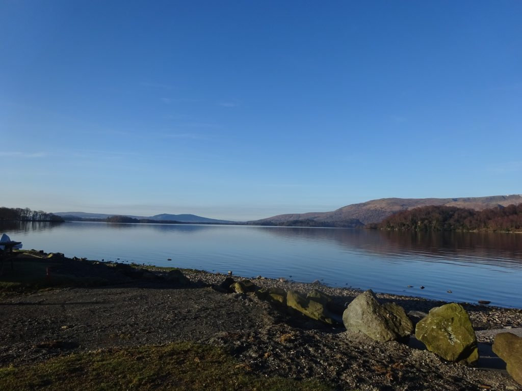 Campsite View, Loch Lomond