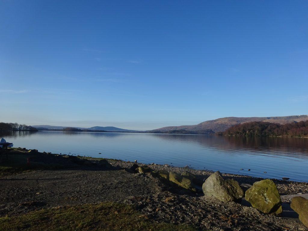 Campsite View, Loch Lomond