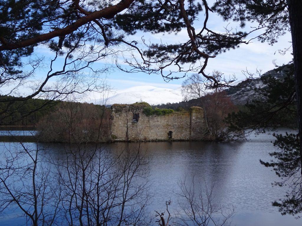 Castle Ruin - Loch Eilean