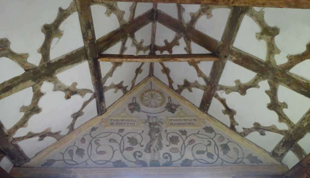 Ceiling Of The Long Gallery