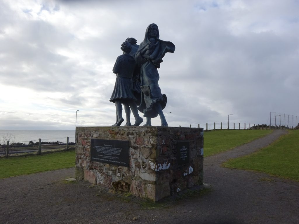 Emmigrant Statue, Helmsdale