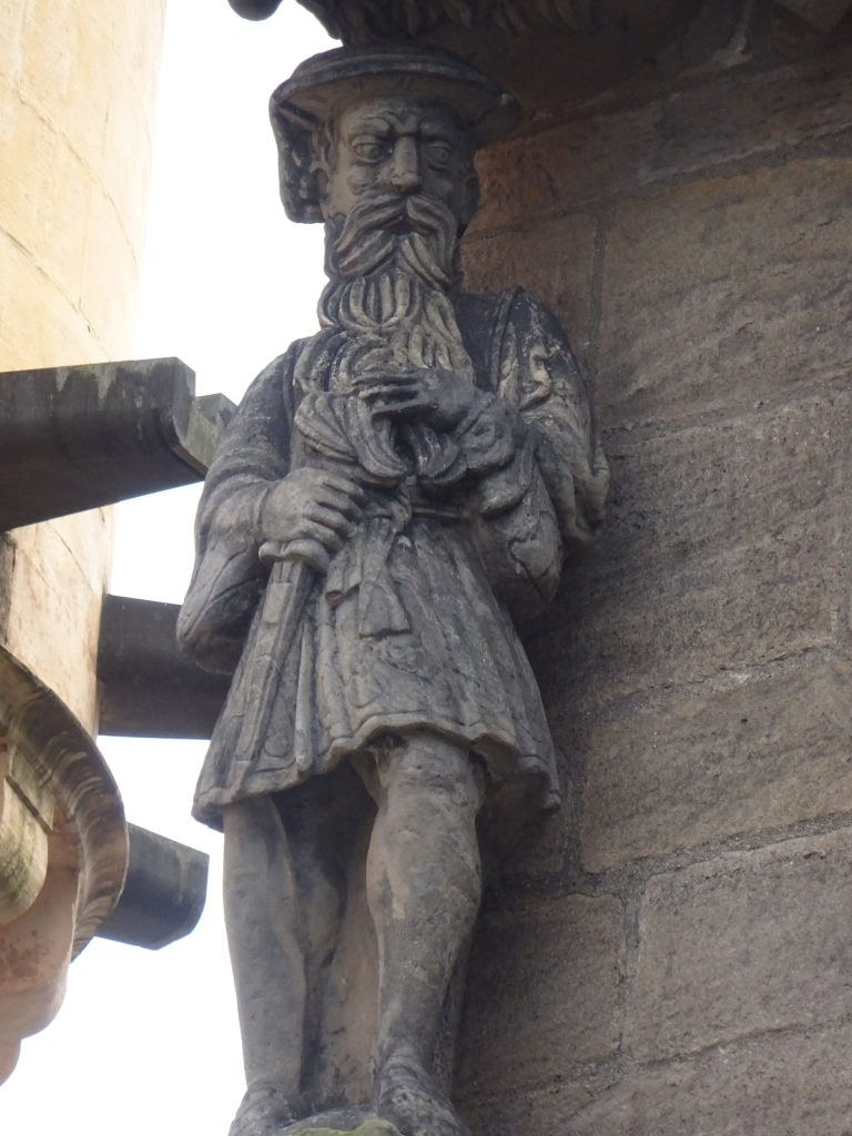 Jimmy Stewart, Stirling Castle
