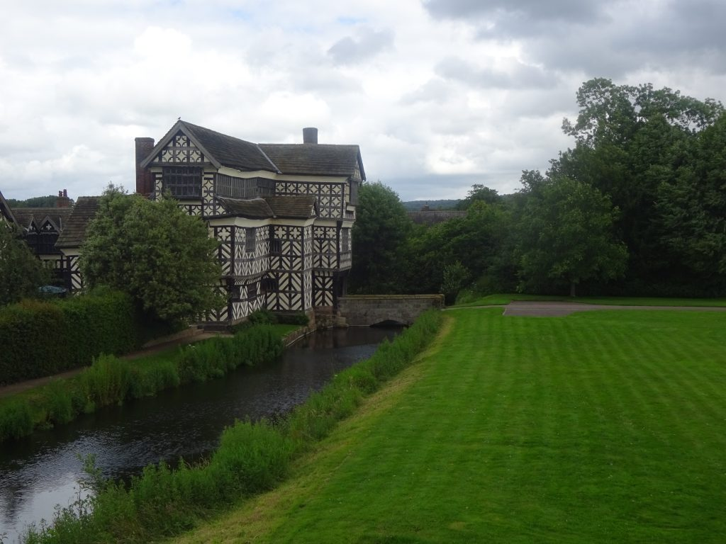 Little Moreton Hall And Moat