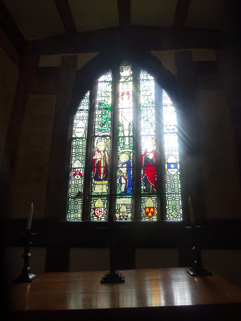 Little Moreton Hall Chapel