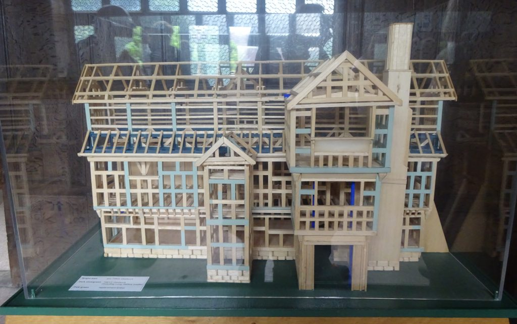 Little Moreton Hall Structure