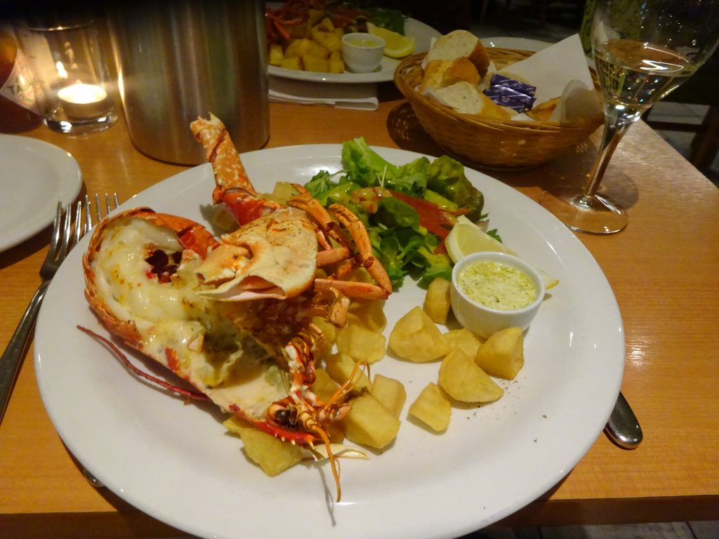 Lobster At EE-USK