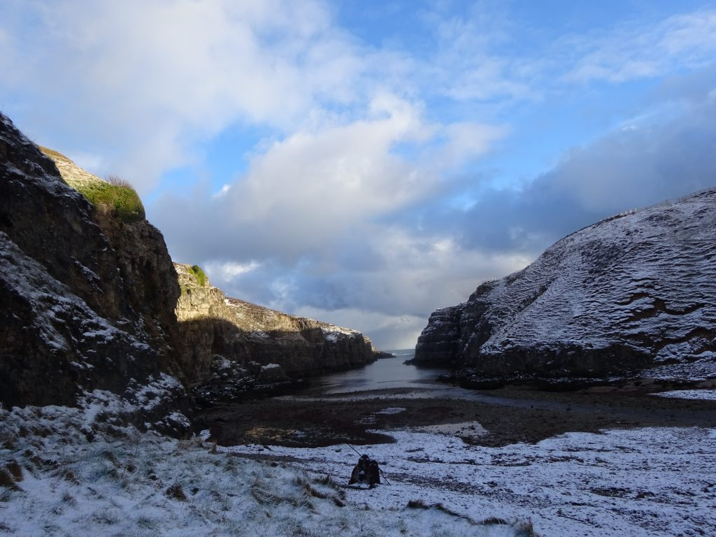 Looking Out From Smoo Cave