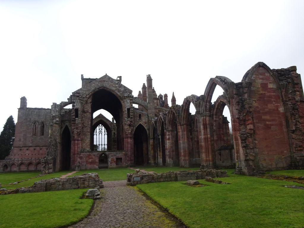 Melrose Abbey View