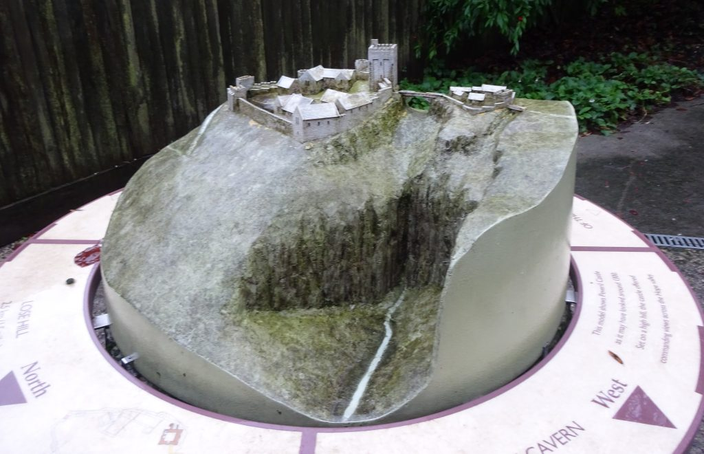 Model Of Peveril Castle
