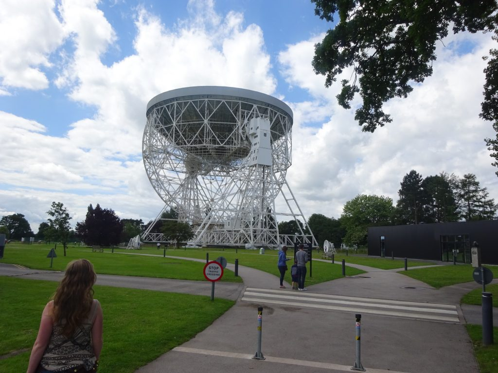 Natpacker At Jodrell Bank