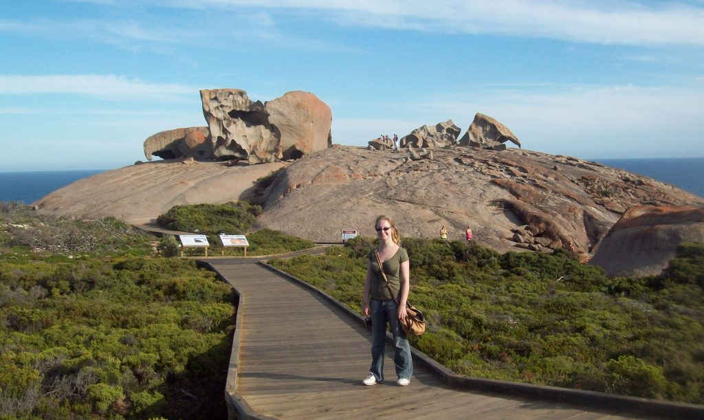 Natpacker At Remarkable Rocks