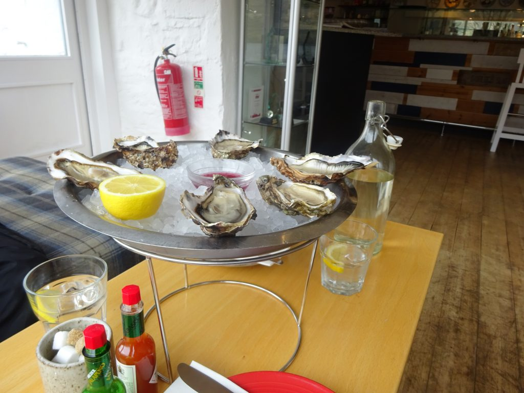 Oysters At Loch Fyne