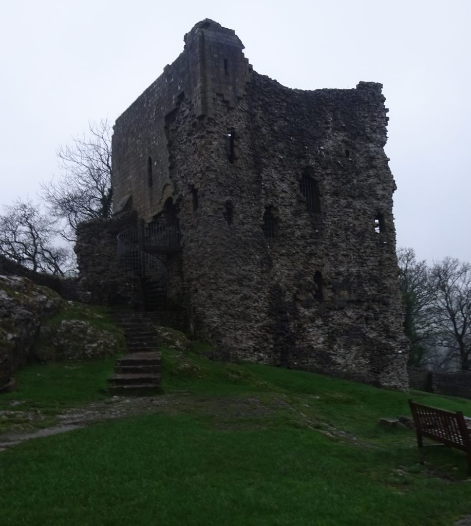 Peveril Castle Keep Ruins