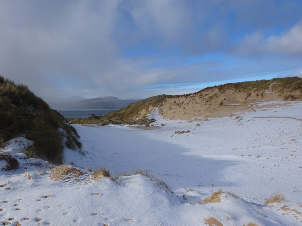 Snow And Sand Dunes, Faraid Head