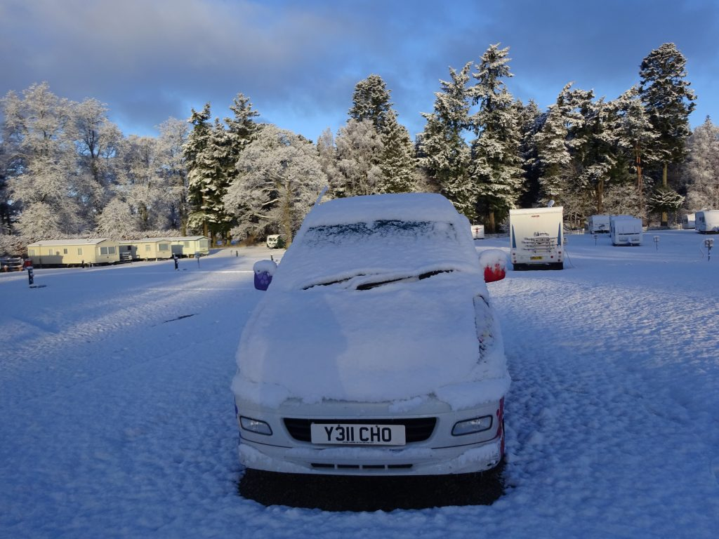 Snow At Blair Atholl