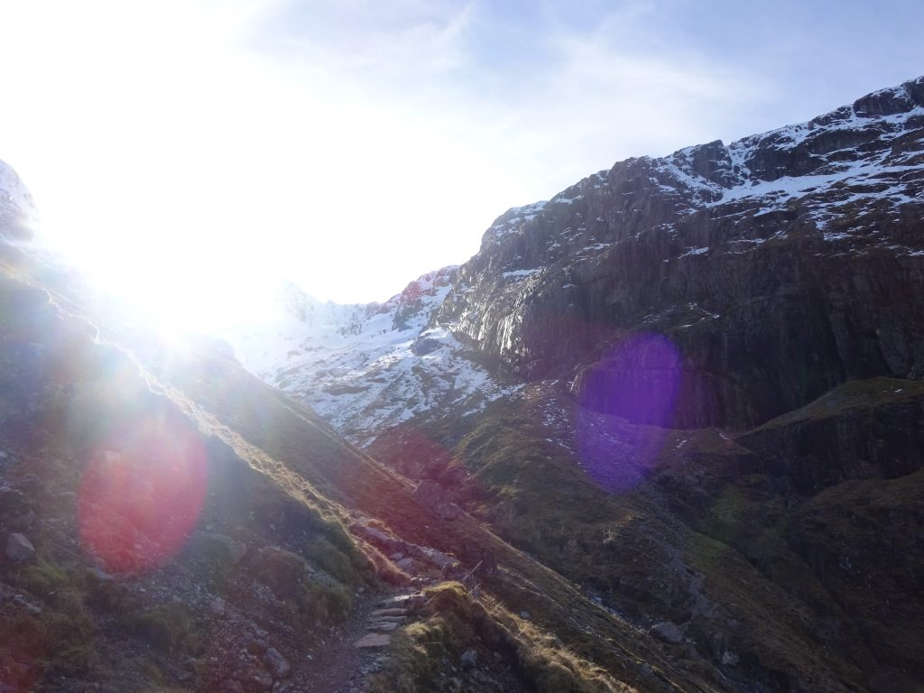 Somewhere In The Hidden Valley, Glen Coe