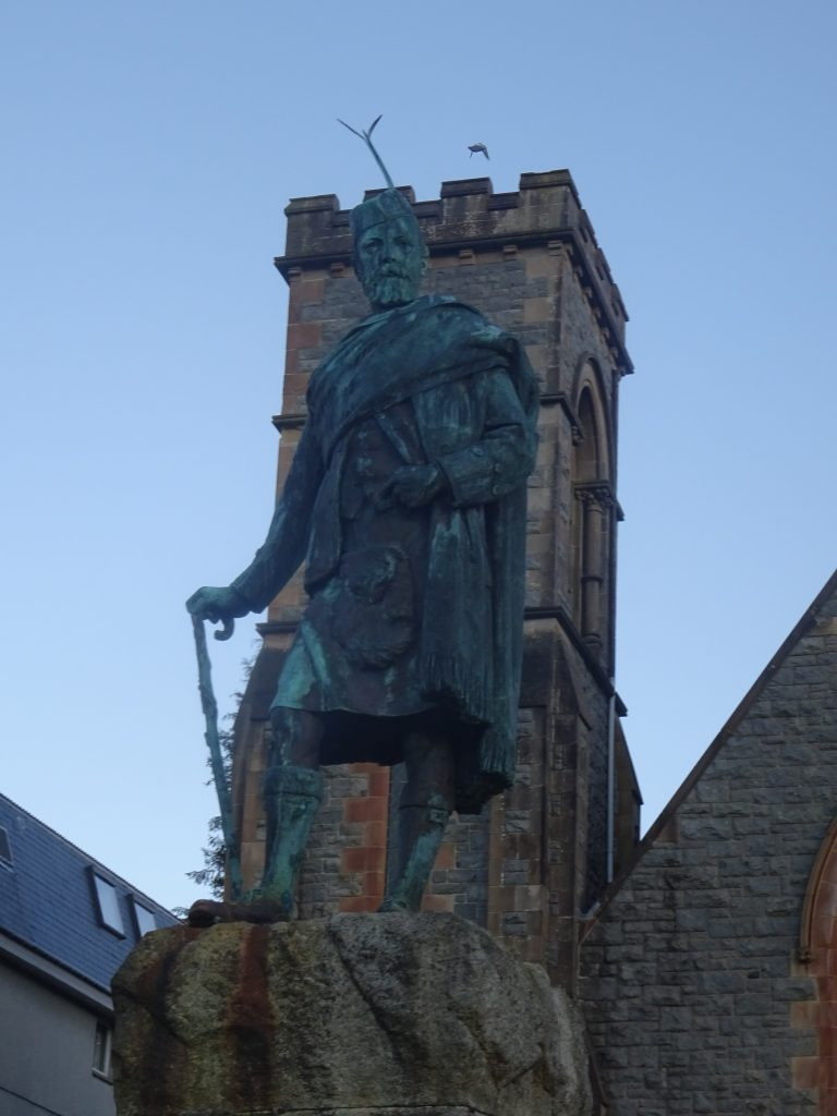 Statue Fort William