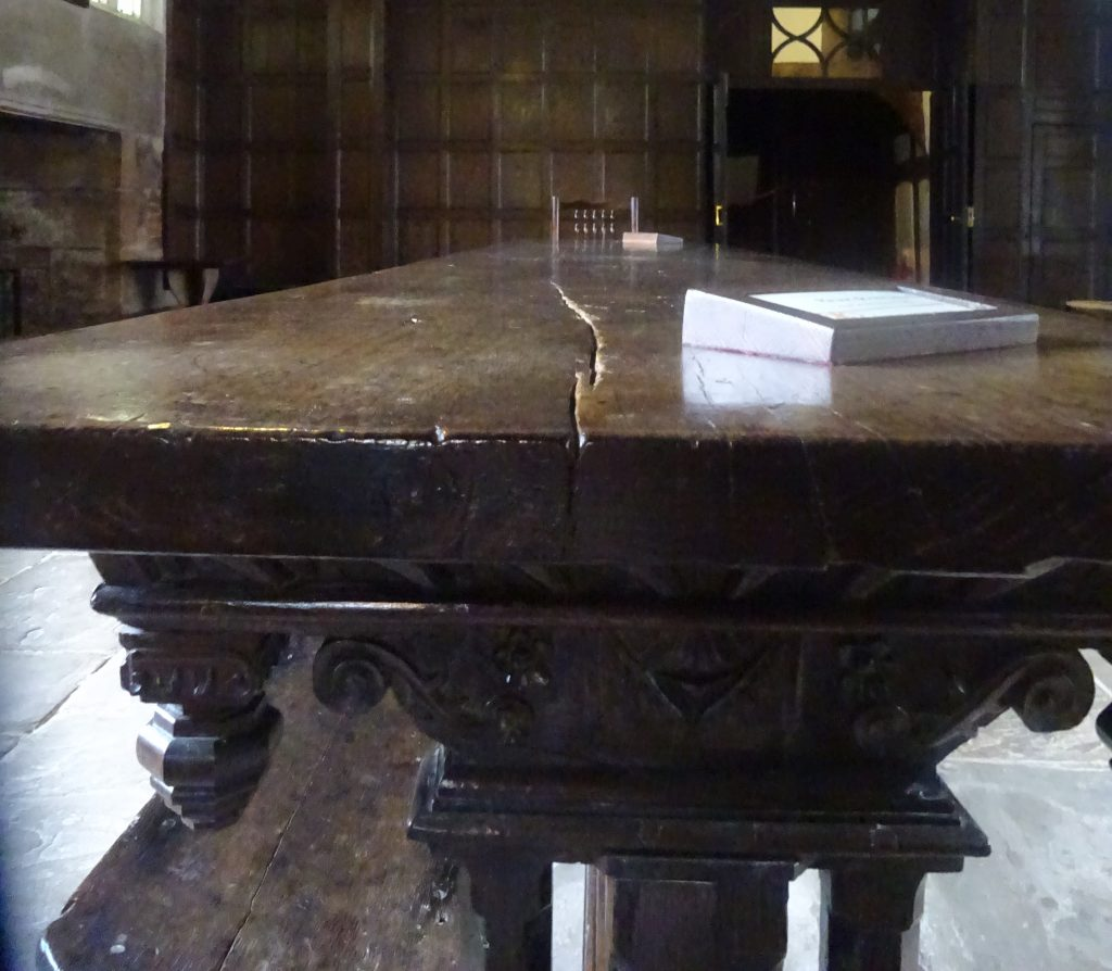 Table In The Great Hall