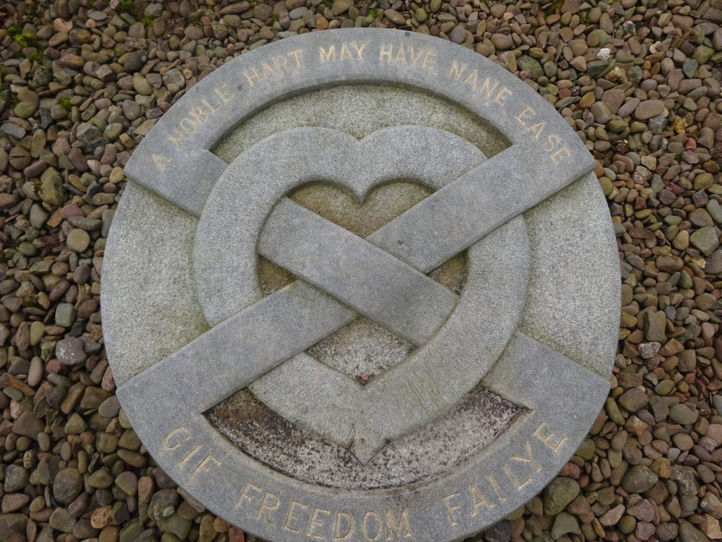 The Heart Of Robert The Bruce, Melrose Abbey