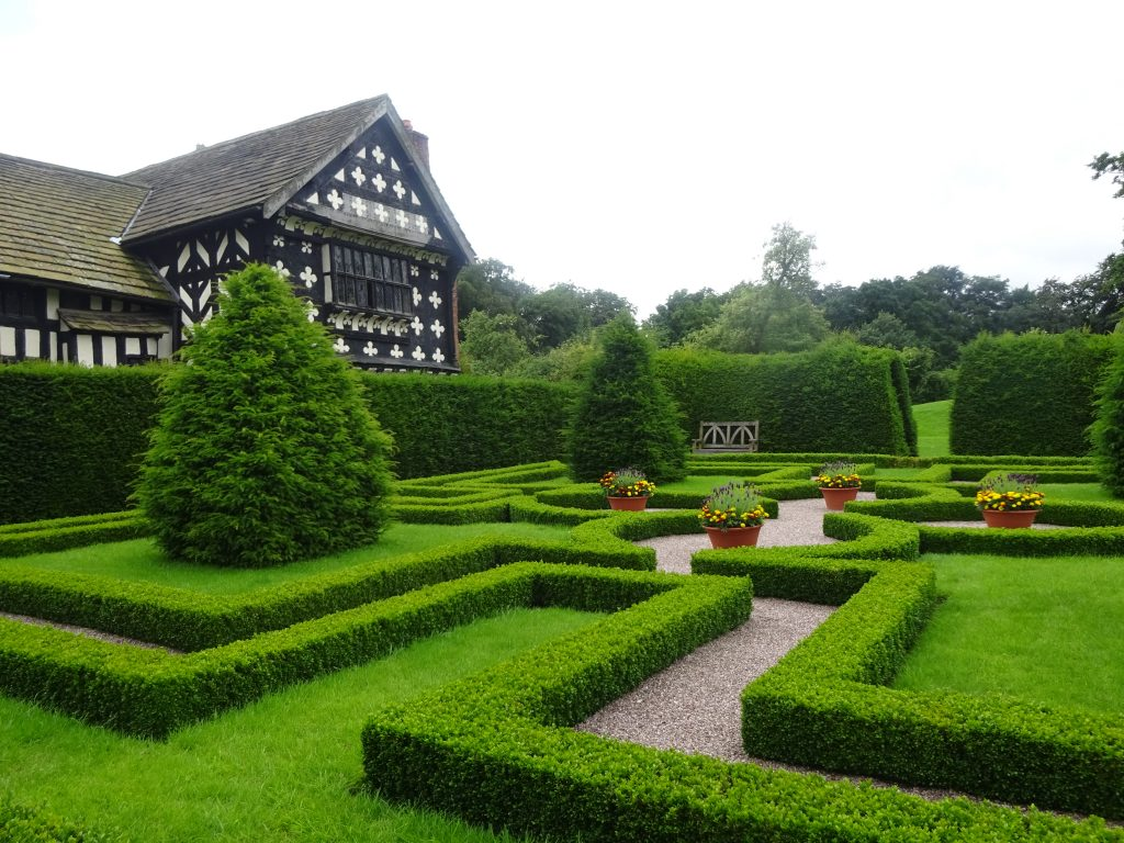 The Knot Garden Little Moreton Hall