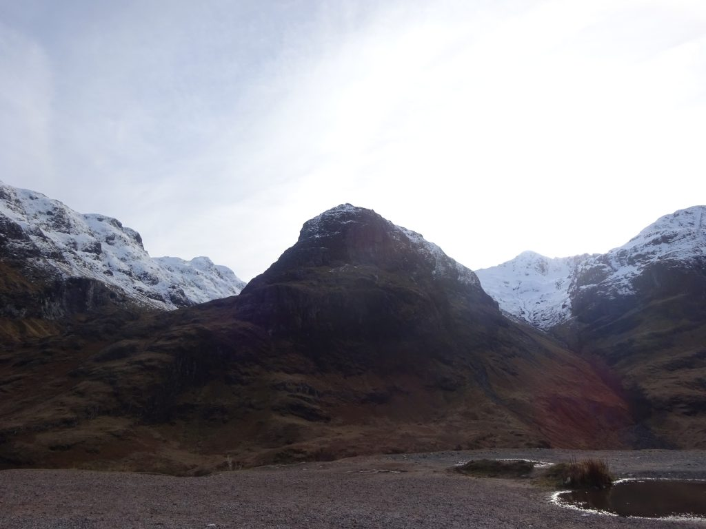 Three Sisters, Glen Coe