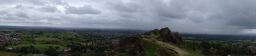 View From Mow Cop Castle