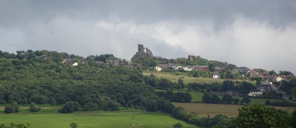 View Of Mow Cop Castle From Little Moreton Hall