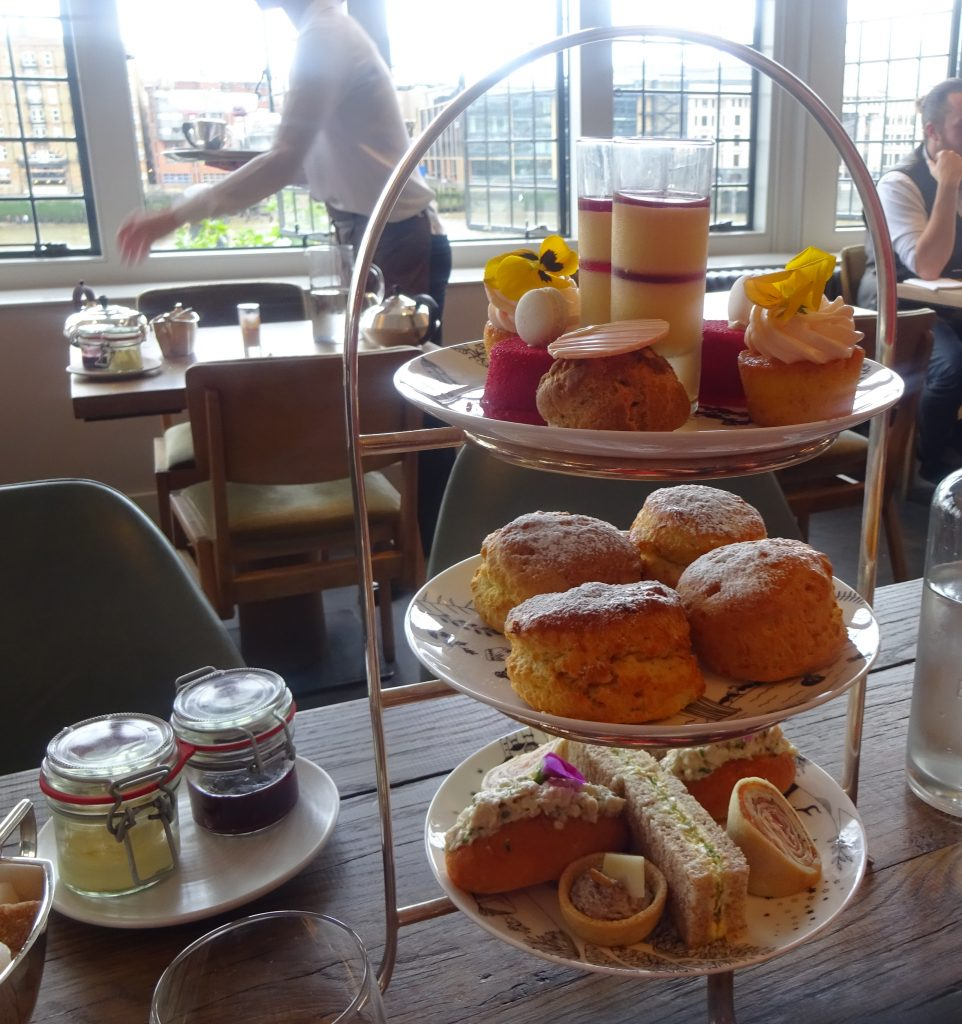 Afternoon Tea At the Swan
