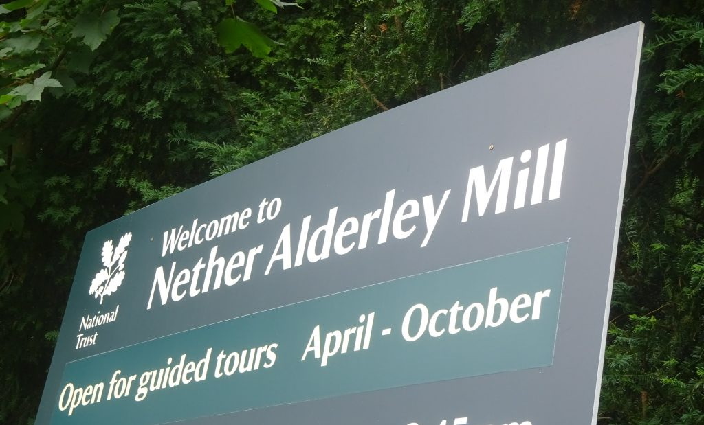 Nether Alderley Mill National Trust