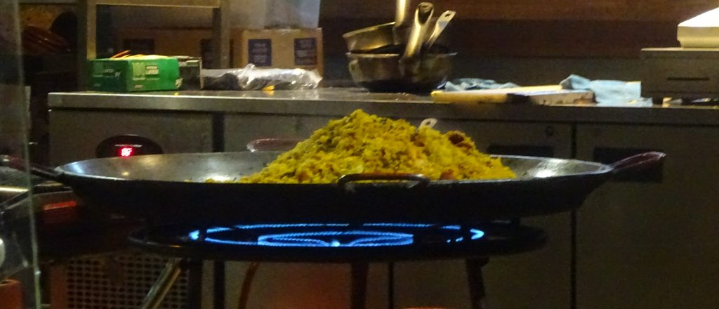 Paella At Cafe Brood