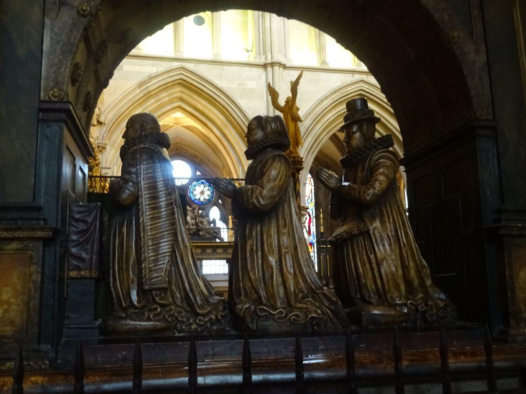 Statue Of Three Men