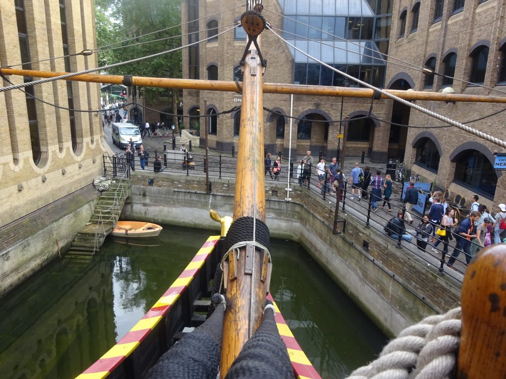 View From The Golden Hinde