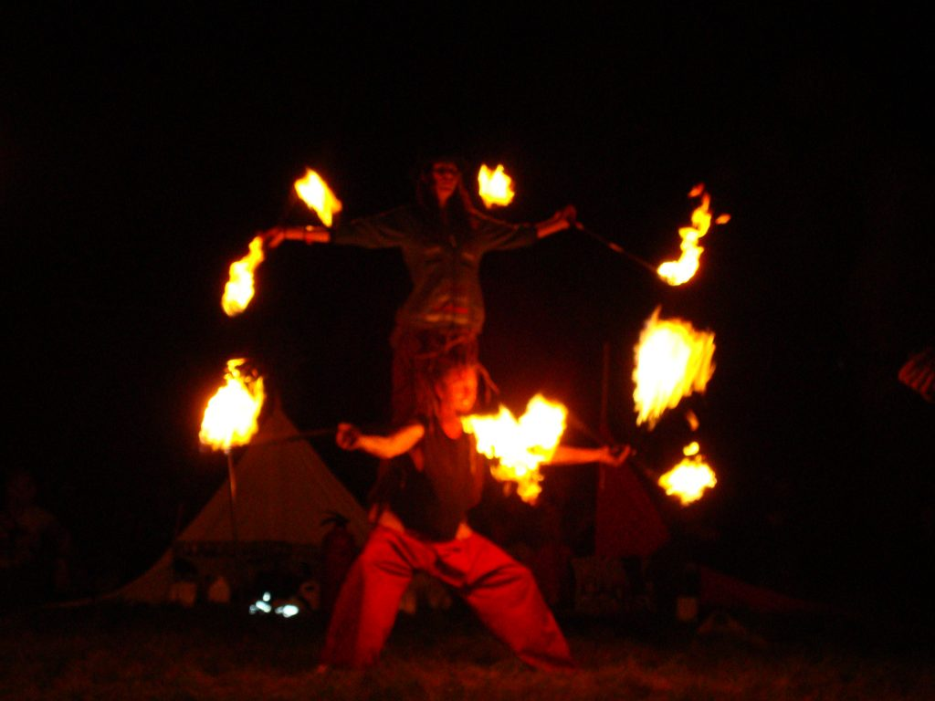 Fire Spinners 2009