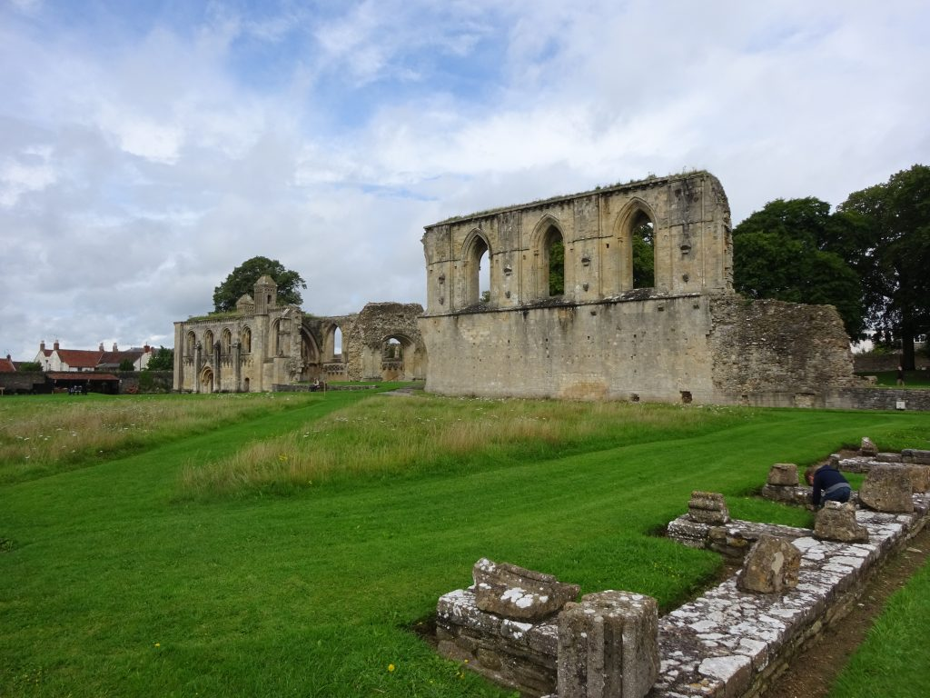 Inside The Grounds Of Glastonbury Abbey