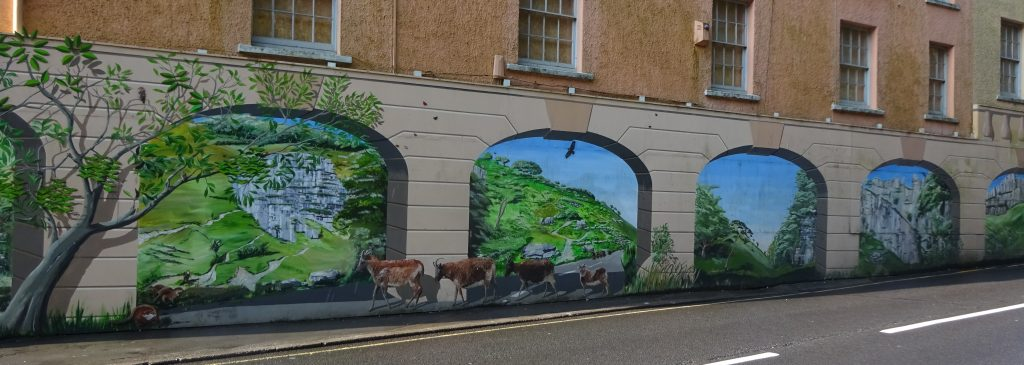 Mural In Cheddar Village