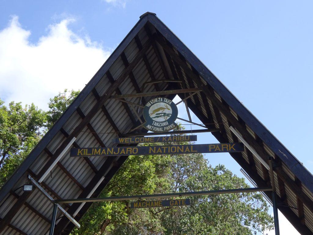 The Machame Gate