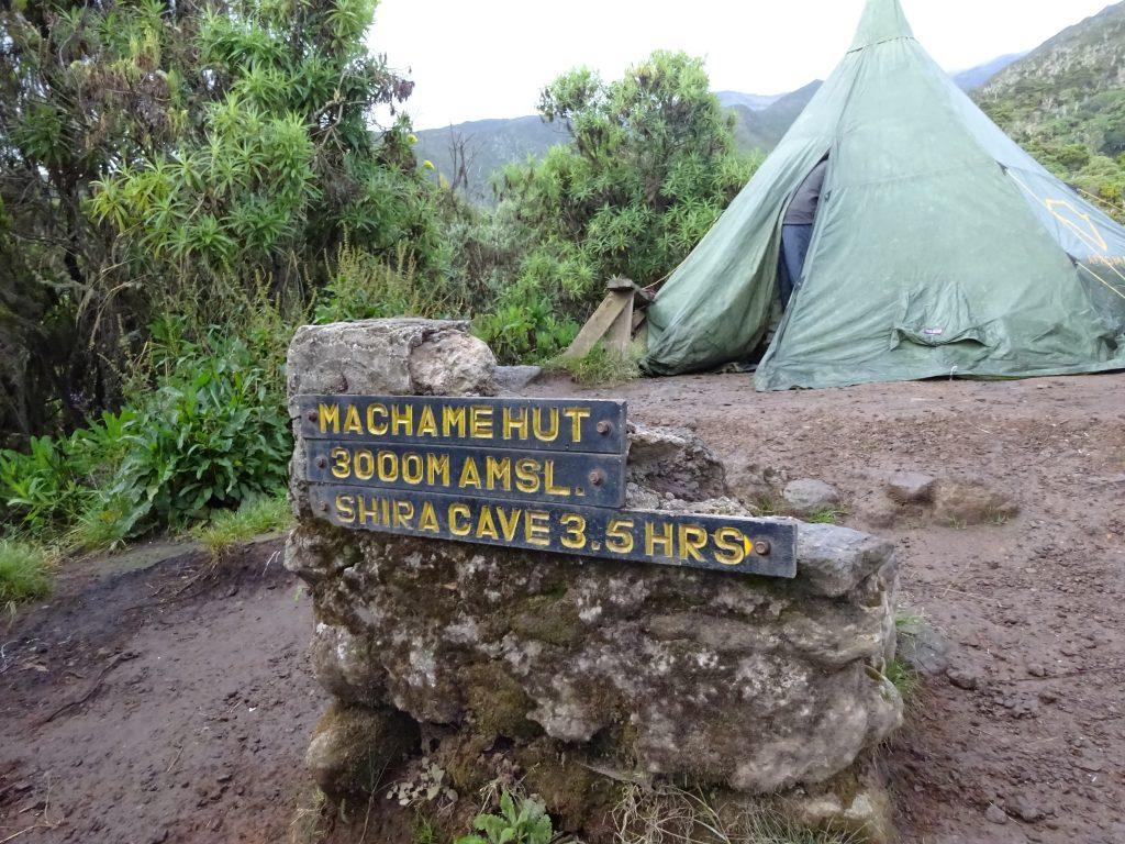 Machame Hut Camp