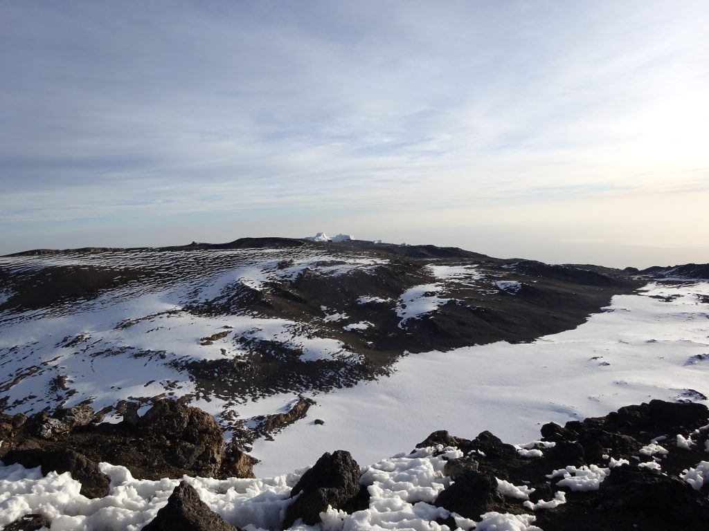 On The Crater Rim