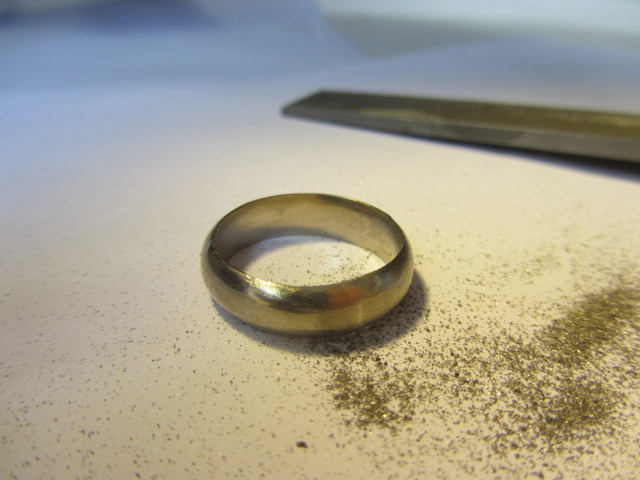 Ring With Filings